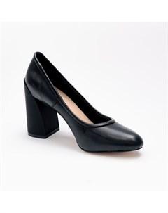 Черные туфли из эко кожи Calipso