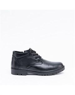 Черные кожаные ботинки Calipso