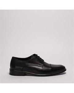 Черные кожаные полуботинки Calipso