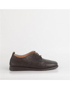 Черные кожаные кеды Calipso