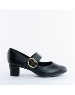 Черные туфли из эко кожи Beira rio