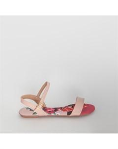 Розовые лаковые сандалии Beira rio