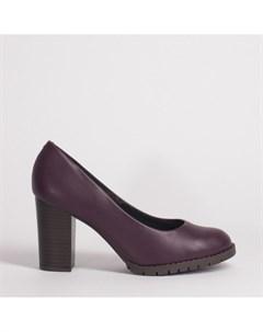 Бордовые туфли из эко кожи Beira rio