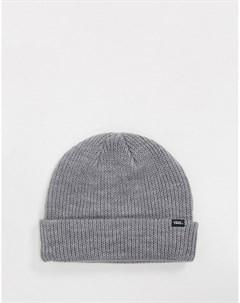Серая шапка бини Core Basics Vans