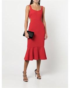 Расклешенное платье Lachance с вырезами Likely