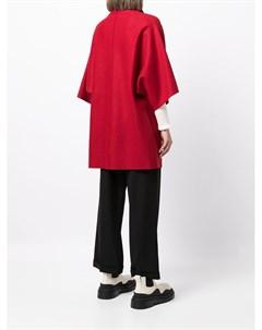 Шерстяное пальто кимоно Harris wharf london