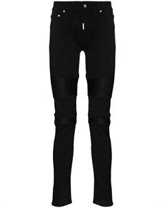 Байкерские джинсы скинни Represent