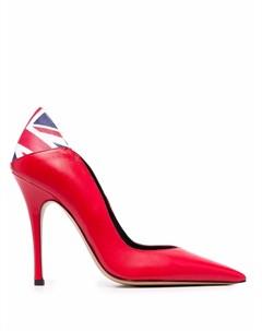 Туфли UK Flag с заостренным носком Aleksander siradekian