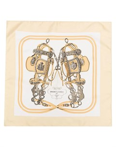 Шелковый платок Brides de Gala pre owned Hermès