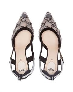 Туфли Colibri с ремешком на пятке Fendi