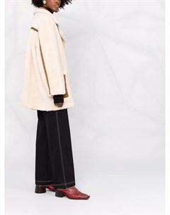 Двубортное шерстяное пальто Stand studio