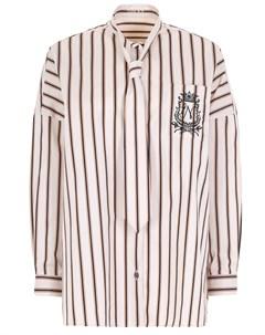 Рубашка хлопковая в полоску Naumi