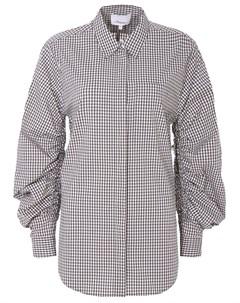 Рубашка объемная в клетку Phillip lim