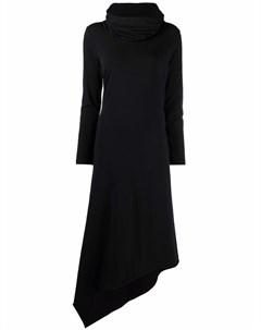 Платье с асимметричным подолом Barbara bologna