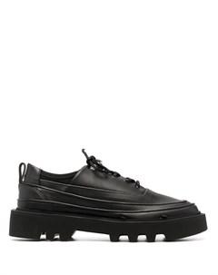 Фактурные кроссовки на шнуровке Rombaut