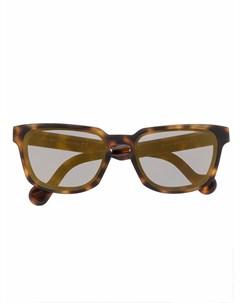 Солнцезащитные очки в квадратной оправе Moncler eyewear
