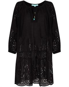 Платье мини Ashley с английской вышивкой Melissa odabash