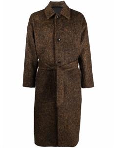 Длинное однобортное пальто A kind of guise