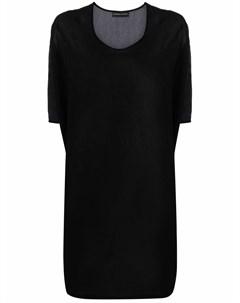 Длинная блузка с графичным принтом Barbara bologna