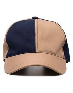sunnei бейсбольная кепка с контрастными вставками один размер нейтральные цвета Sunnei