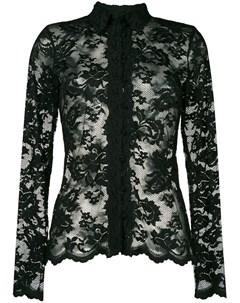 Olvi s приталенная блузка с кружевной отделкой Olvi`s