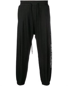 Odeur спортивные брюки с логотипом s черный Odeur