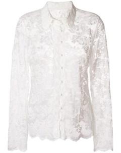 Olvi s блузка с кружевной вышивкой Olvi`s