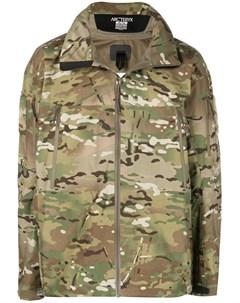 Arc teryx veilance дутая куртка с камуфляжным принтом Arc'teryx veilance