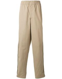 Comme des garcons shirt boys свободные брюки с эластичным поясом нейтральные цвета Comme des garçons shirt boys