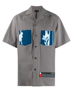 D gnak рубашка с короткими рукавами и логотипом D.gnak