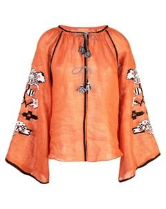 March 11 декорированная блузка с кисточками March 11