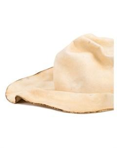 Horisaki design handel шляпа с волнистыми полями нейтральные цвета Horisaki design & handel