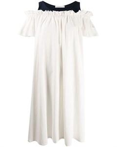 Neul платье с открытыми плечами Neul