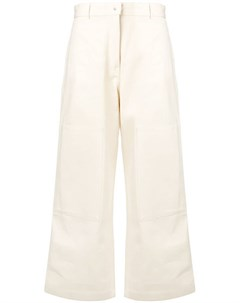 Studio nicholson укороченные брюки панельного дизайна Studio nicholson