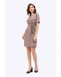 Платье с драпировкой Emka