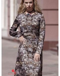 Платье цвет коричневый Ksenia knyazeva