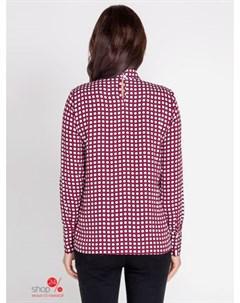 Блуза цвет бордовый Bestia