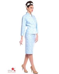 Жакет цвет голубой Ksenia knyazeva