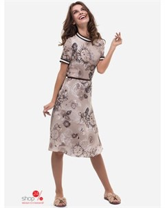 Платье цвет бежевый Ksenia knyazeva