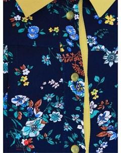 Платье цвет темно cиний Ksenia knyazeva