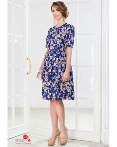 Платье цвет синий La vida rica