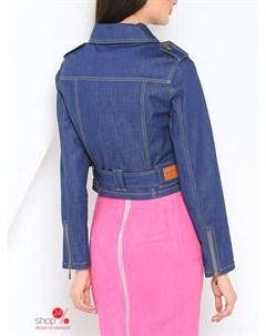 Куртка цвет голубой Ksenia knyazeva