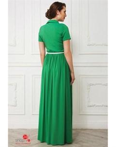 Платье цвет зеленый La vida rica