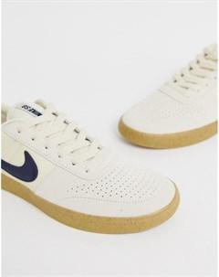 Желтые кроссовки для скейтборда Team Nike sb