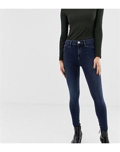 Темные джинсы скинни Molly River island