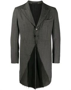 Comme des garcons vintage костюм 2002 го года с необработанными краями Comme des garçons vintage