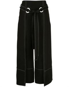 yigal azrouel брюки с контрастной строчкой Yigal azrouel