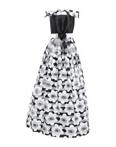 Длинное платье Impero couture