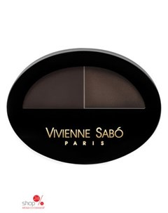 Тени для бровей двойные Brow Arcade тон 03 Vivienne sabo