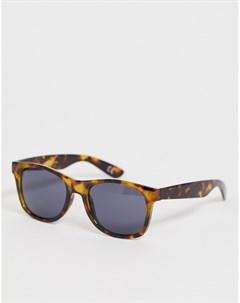 Солнцезащитные очки в черепаховой оправе Spicoli 4 Коричневый Vans